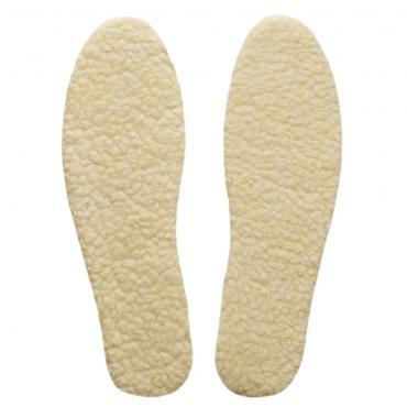 Woll Schuheinlegsohle 35-45 natur