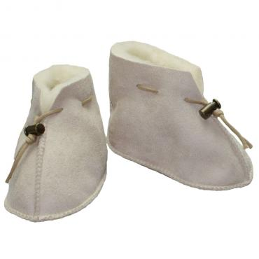 SamWo Babyschuhe 100/% nat/ürliche Schafwolle mit Schnellverschluss